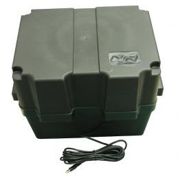 Souprava pro napájení budky z akumulátoru min. 24 hodin
