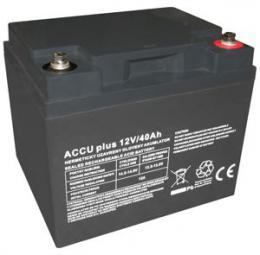 Bezùdržbový olovìný akumulátor 12V / 40Ah - zvìtšit obrázek